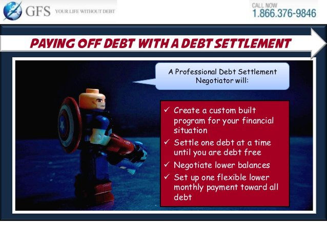 Using Debt Settlement to Pay off Credit Cards