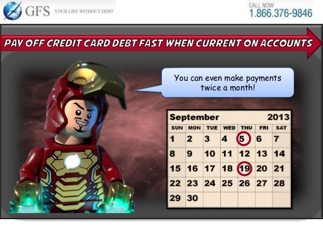 step 4 to paying off credit card debt
