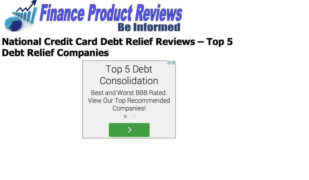 how to get debt relief on credit cards